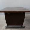 French Art Deco Dining Table by Jules Leleu, matching Buffet Available