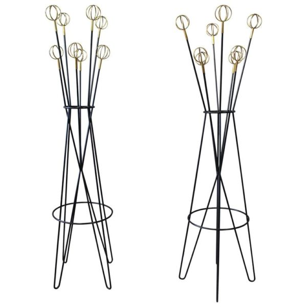 French 1950s Coat Rack Stand by Roger Feraud for Geo