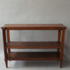 Fine French 19th Century Three-Tiered Oak Console in a Louis XVI Style