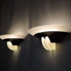 4 Fine French Art Deco Glass and Bronze Sconces by Jean Perzel