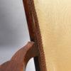 Set of 4 Fine French Art Deco Walnut Bridge Armchairs by Jules Leleu