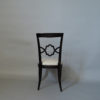Set of 12 French Art Deco Side and Two-Arm Dining Chairs