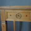 Fine French Art Deco Sycamore Desk by R. Damon & Bertaux