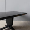 Fine French Art Deco Black Lacquered Dining or Writing Table