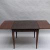 Fine French Art Deco Ebony Macassar Game Table