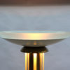 Fine French Art Deco Lacquer and Glass Floor Lamp