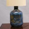 Danish 1960s Ceramic Table Lamp by Hanne