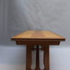 French Midcentury Extendable Oak Table by Guillerme et Chambron