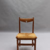 Set of Six French Mid-Century Dining Chairs by Guillerme et Chambron