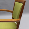 Pair of French Art Deco Bridge Chairs by Jules Leleu