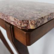 1469-Console plus profonde pieds beaux marbre (3)