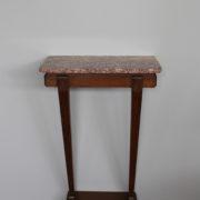 1469-Console plus profonde pieds beaux marbre (8)