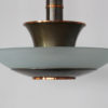 Fine French Art Deco Bronze and Glass Chandelier by Genet et Michon