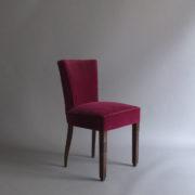 1005- 4 chaises Dudouyt violettes (2)