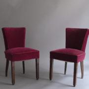 1005- 4 chaises Dudouyt violettes (7)