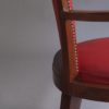 Set of Four French Art Deco Bridge Chairs