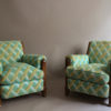 A Pair of Fine French Art Deco Club Chairs
