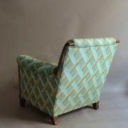 1094-Paire fauteuils clubs a carreaux verts (8)