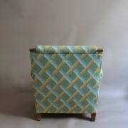 1094-Paire fauteuils clubs a carreaux verts (9)