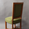11 Fine French Art Deco Oak Side Chairs by Arbus (a matching armchair available)