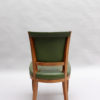 Set of 4 Fine French Art Deco Rosewood Chairs (4 matching arm chairs available)