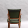 Set of Four Fine French Art Deco Rosewood Armchairs