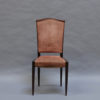 Set of Eight French Art Deco Chairs by Dominique