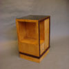 A Fine French Art Deco Satinwood Side Table or Nightstand
