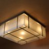 A Fine French Modernist Flush Mount Attributed to Perzel