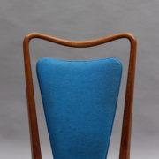 1624-6Chaises bleues 50's cadre detache 6