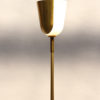 Fine French Midcentury Bronze and Glass Floor Lamp by Perzel