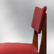 1761-4 chaises 50s skai rouge petits carres (14)