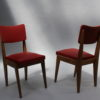 Set of Four French Midcentury Chairs
