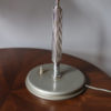 Fine French Art Deco Chrome and Lacquered Desk Lamp