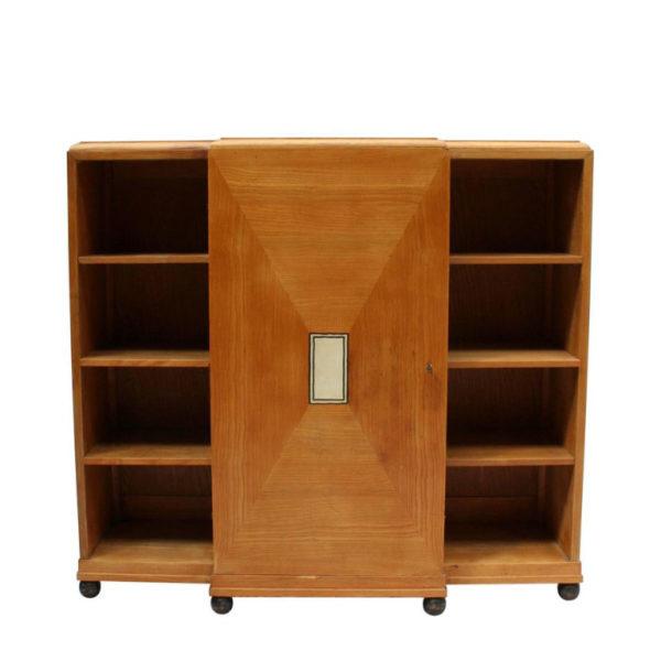 Fine French Art Deco Cabinet or Bookcase