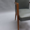 Pair of Fine French 1950s Bridge Armchairs
