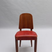 1747-6Chaises+2fauteuils SM Maxime Old cuir rouge 00008