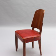 1747-6Chaises+2fauteuils SM Maxime Old cuir rouge 00009