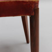 1747-6Chaises+2fauteuils SM Maxime Old cuir rouge 00016