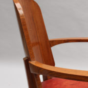 1747-6Chaises+2fauteuils SM Maxime Old cuir rouge 00030