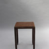 Two Fine French Art Deco Mahogany and Rosewood Side Tables by Jules Leleu