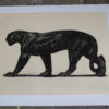 Limited edition etching by Paul Jouve. 52/100