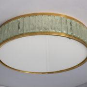 1797-Paire de grands colliers de la reine tambours Perzel poli vernis (9)