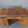 French Art Deco Rosewood Pedestal Desk