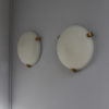 A Set of 4 Fine French Art Deco Flush Mount / Wall Sconce by Jean Perzel