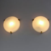 1765-Paire de Perzel 3 griffes dores bascule petit mec00009