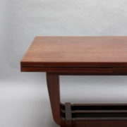 1748-Table SM Maxime Old cuir rouge 00002