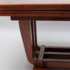 A Fine French Art Deco Rosewood Dining Table by Maxime Old