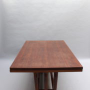 1748-Table SM Maxime Old cuir rouge 00009