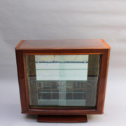 1750-Vitrine basse SM Maxime Old cuir rouge 00003